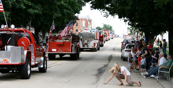 Old Settlers Days Parade